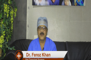 Hi, this is Dr Feroz Khan, I am a hair transplant surgeon specialising in FUE procedure. Today, w...
