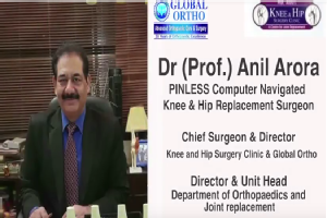 Patient describing her expericence of Knee replacement surgery performed by Dr. Anil Arora