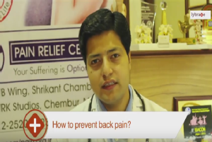 Few daily habits to get rid of Back Pain<br/>Hi I am Dr. Sidharth Verma and today I will tell you...