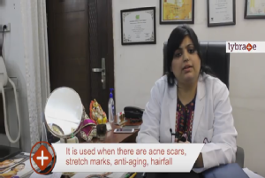 How treatment is carried out with Derma Roller<br/><br/>Hi, I am Dr. Nivedita Dadu. I am dermatol...