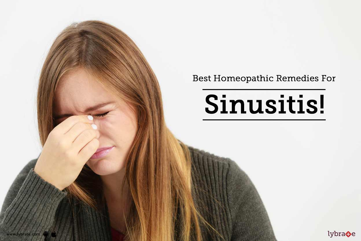 Best Homeopathic Remedies For Sinusitis!
