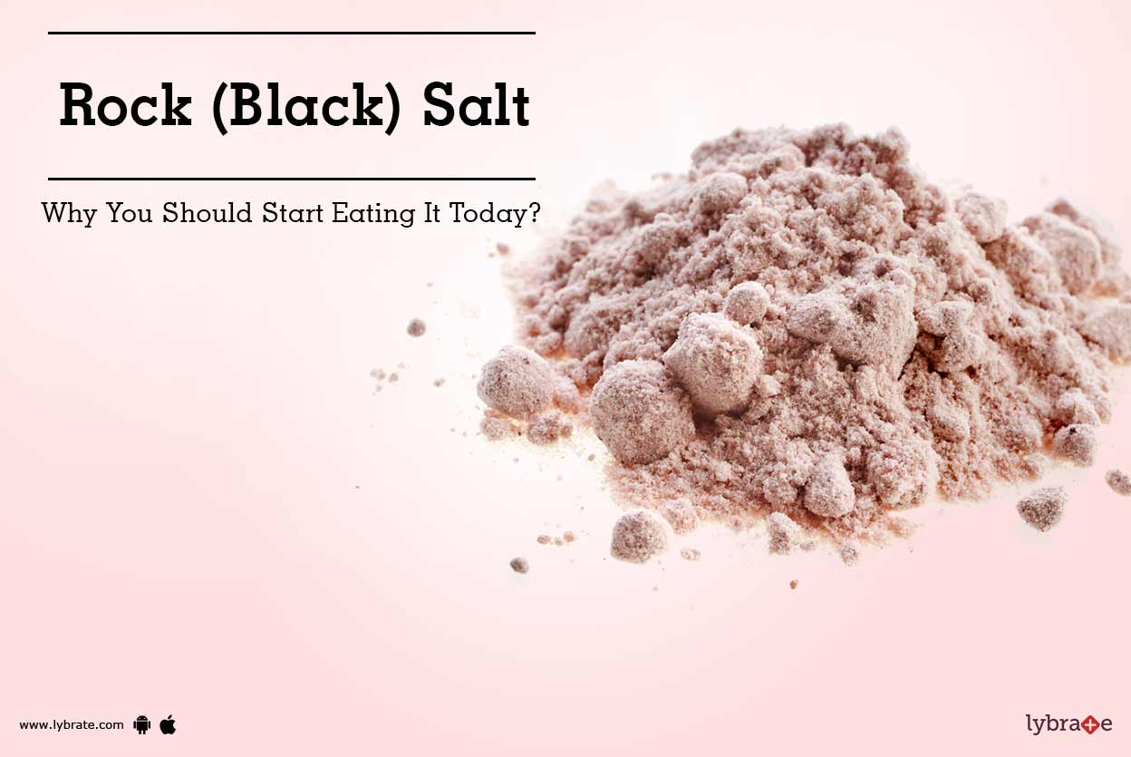 Rock (Black) Salt - Why You Should Start Eating It Today?