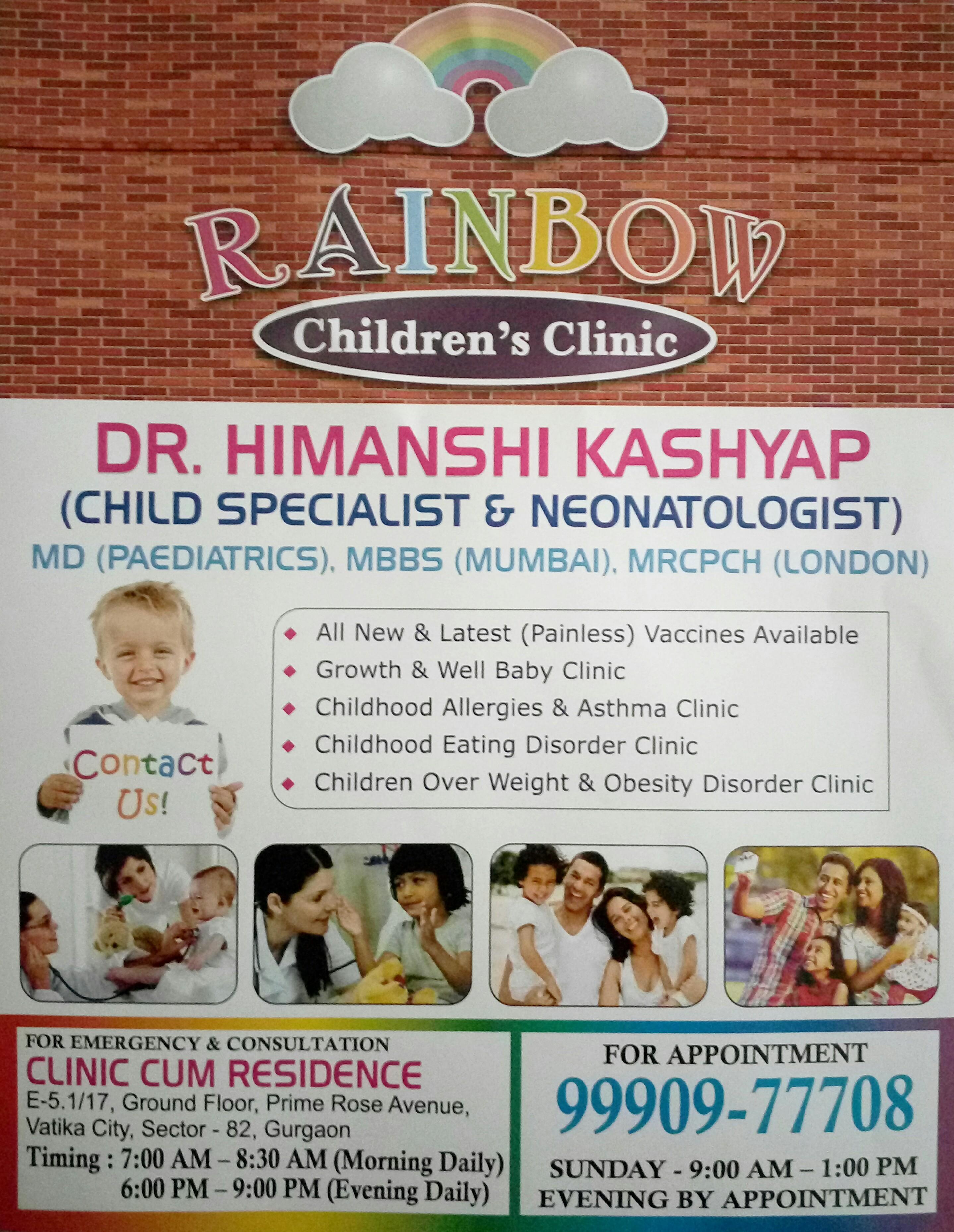 Rainbow Children's Clinic, Gurgaon