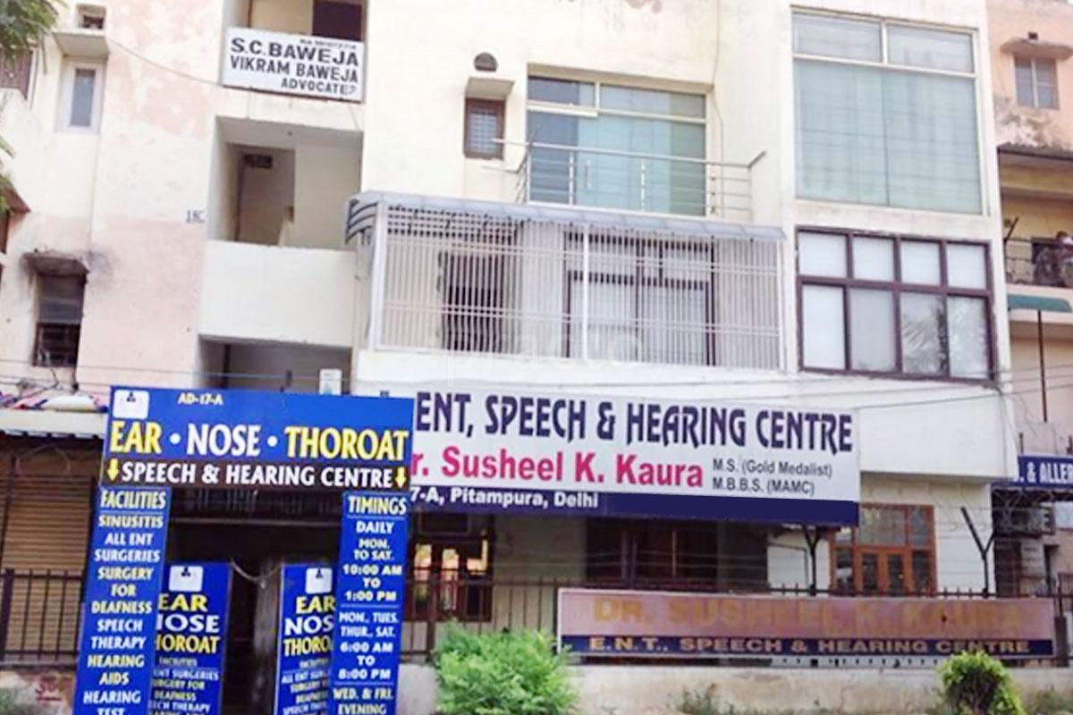 ENT Speech & Hearing Centre, Delhi