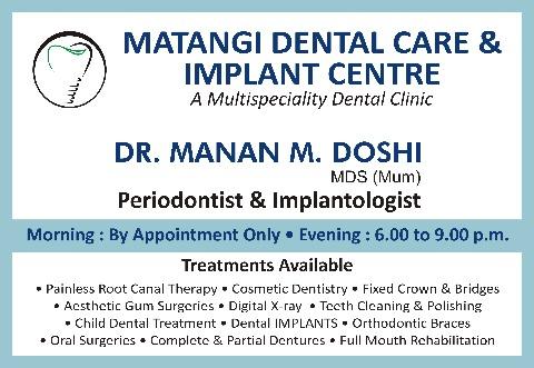 Matangi Denal Care & Implant Center, Mumbai