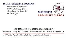 Shresta Clinic, Hyderabad