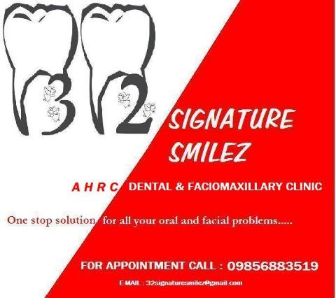 32 Signature Smiles-AHRC Dental & Faciomaxillary Clinic, Agartala