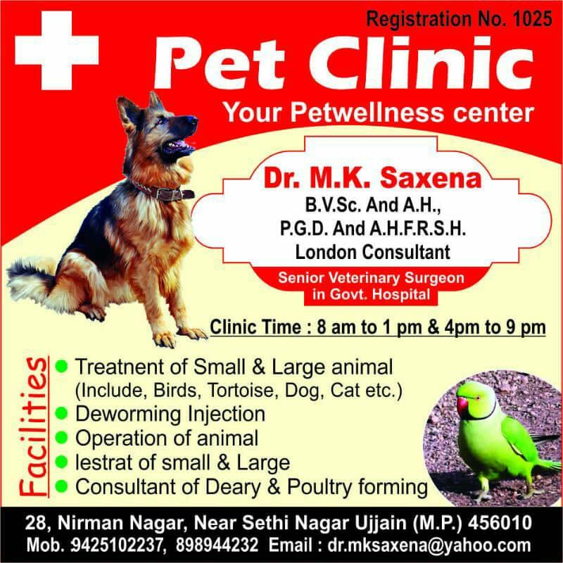 PET CLINIC, Ujjain