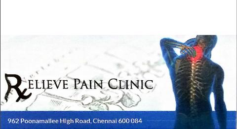 Relieve Pain Clinic, Chennai