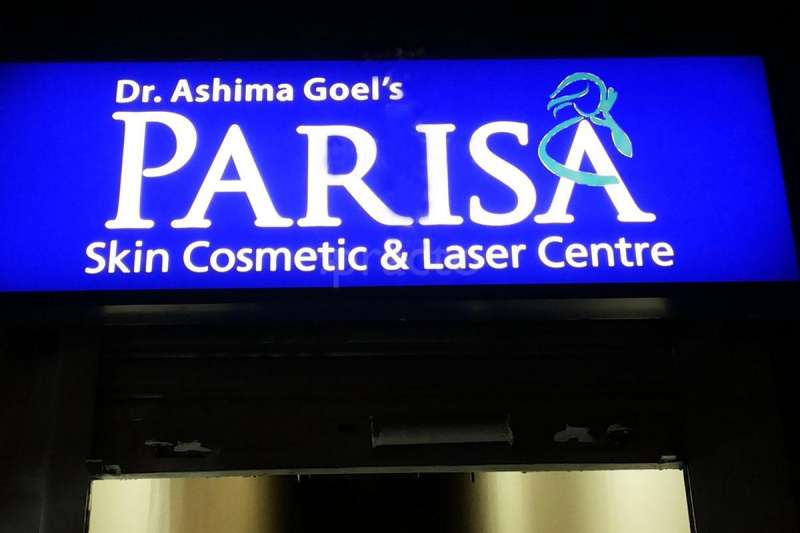 Parisa Skin Cosmetic & Laser Centre, Above AIRTEL, sector 15 D  Chandigarh
