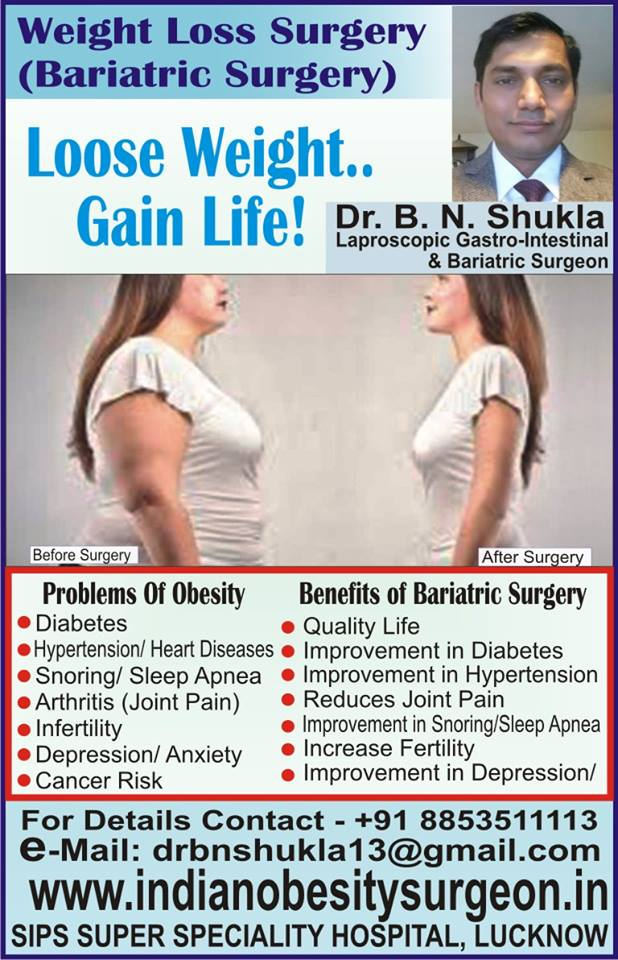 Obesity Clinic and Bariatric Surgery Centre - Lucknow | Lybrate.com