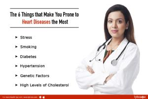 6 Things that make you prone to heart diseases the most<br/><br/>Every year almost 2 lakh people ...
