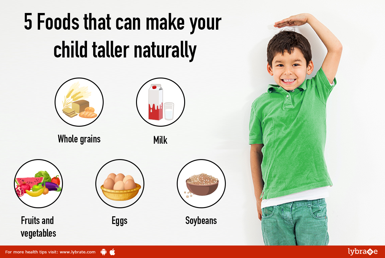 Foods To Increase Height Naturally
