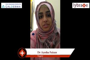 Lybrate | Dr. Ayesha faizan speaks on importance of treating acne early