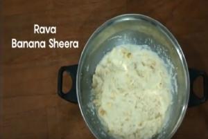 Rava Banana Sherra Recipe to Treat & Prevent Diarrhoea in Children